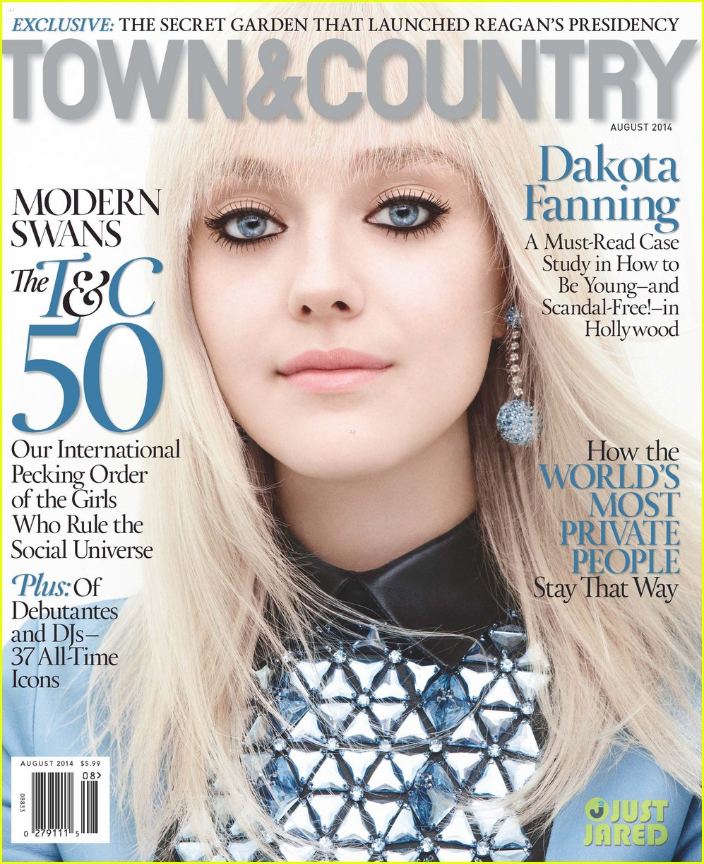 dakota fanning town country august 2014 04