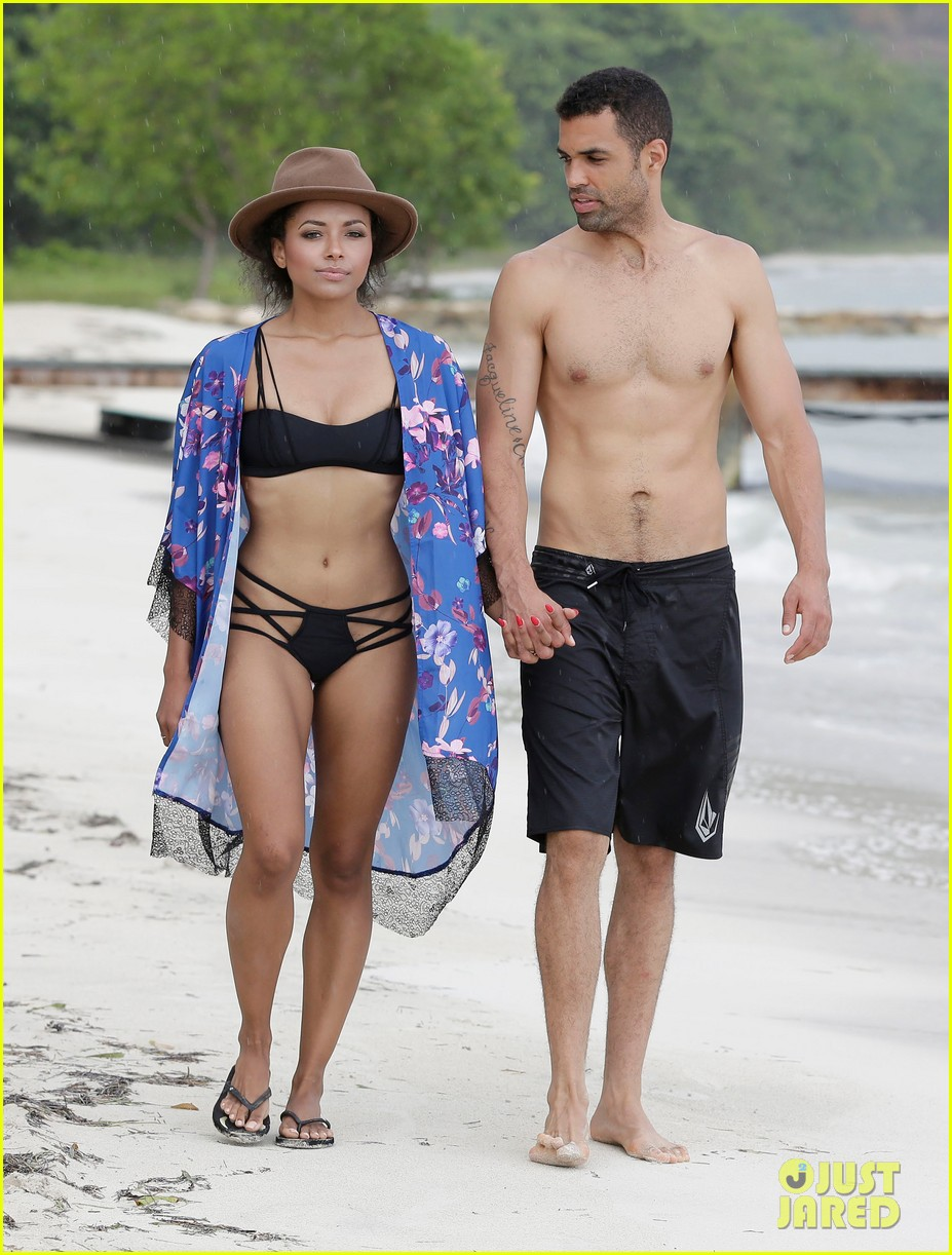 kat graham cottrell guidrv sands beach bikini 023150514