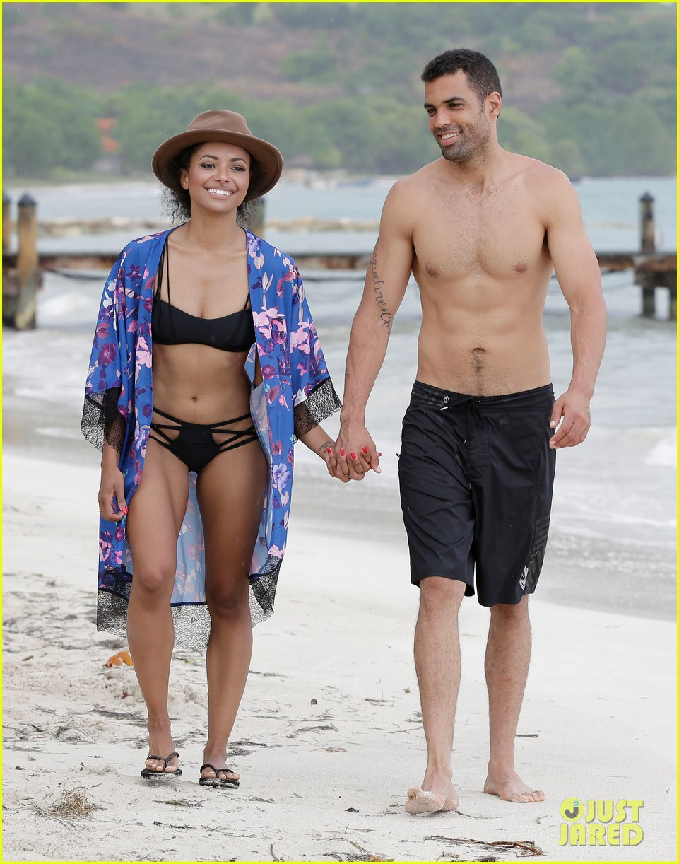 kat graham cottrell guidrv sands beach bikini 043150516