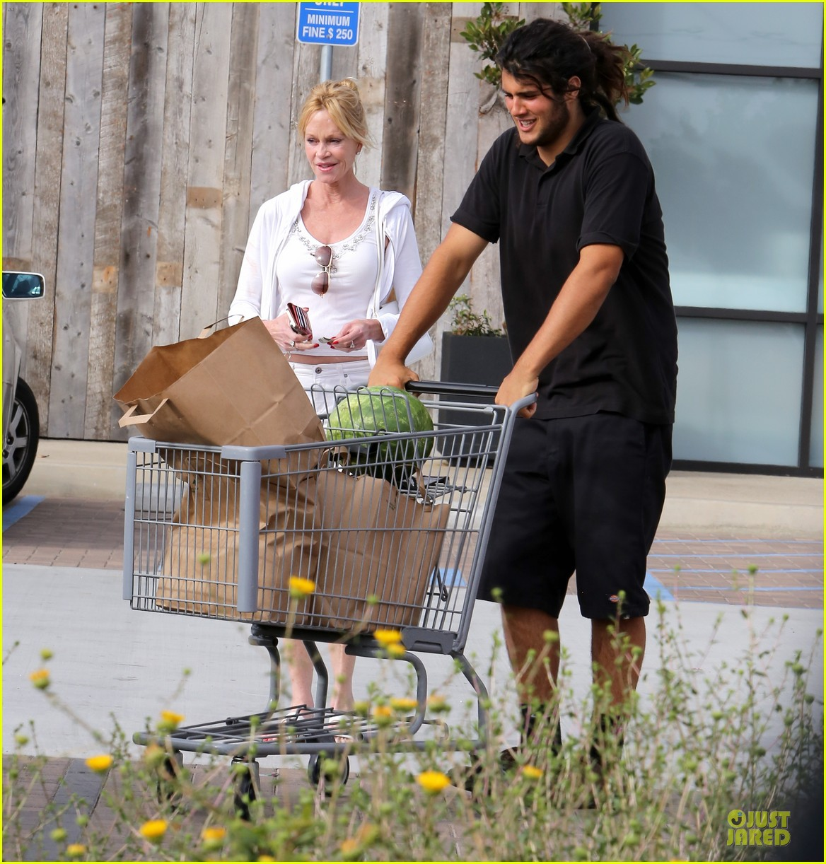 melanie griffith gets grocery help on fourth of july 053150828