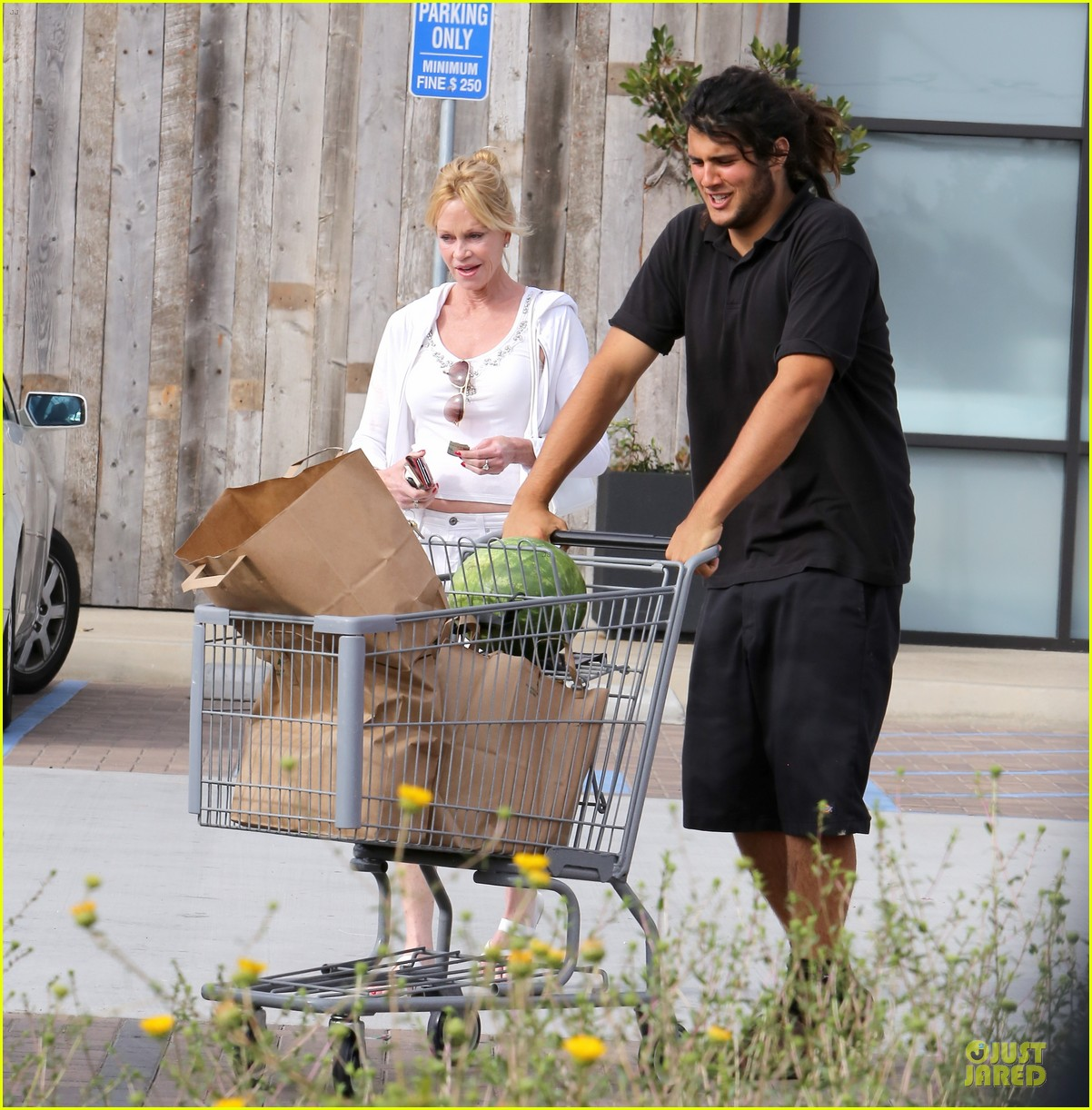 melanie griffith gets grocery help on fourth of july 113150834