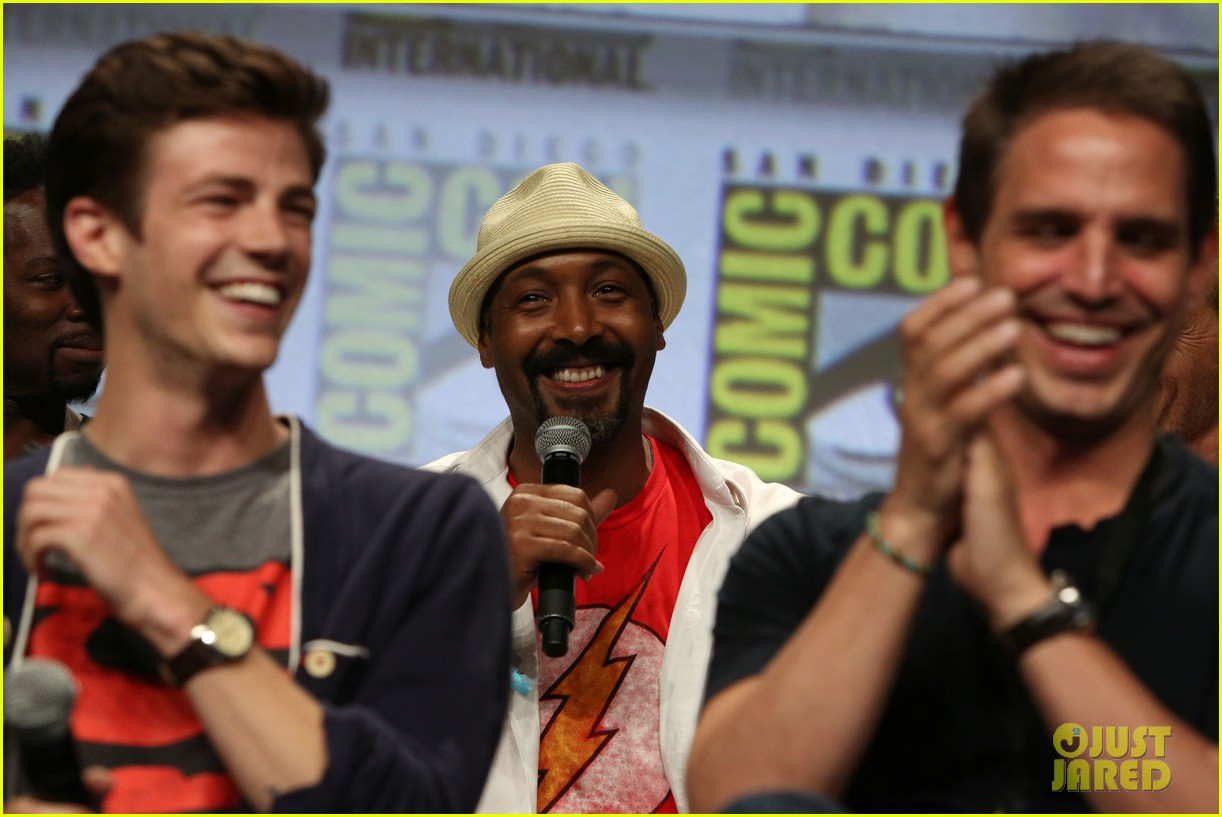 Grant gustin represents dc entertainment at comic con photo grant gustin represents dc entertainment at comic con m4hsunfo Image collections