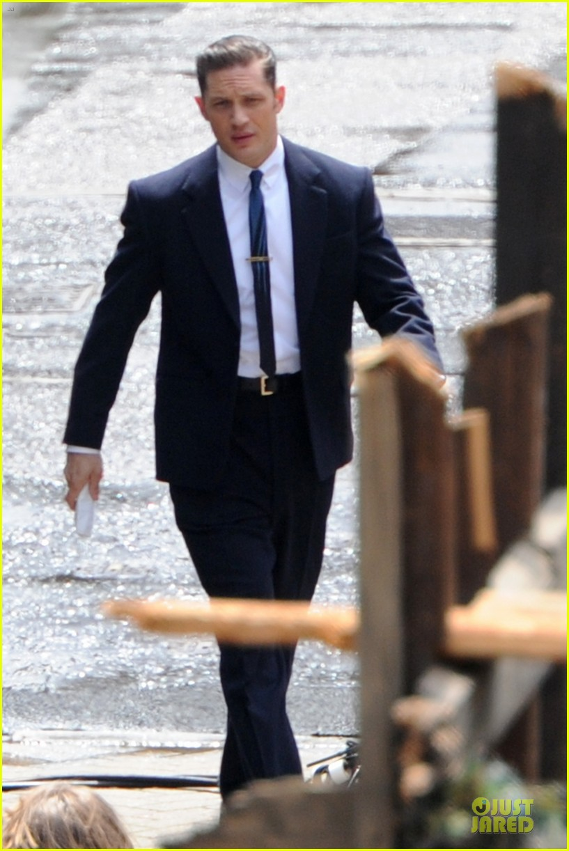 tom hardy handsome legend in a suit 213152840