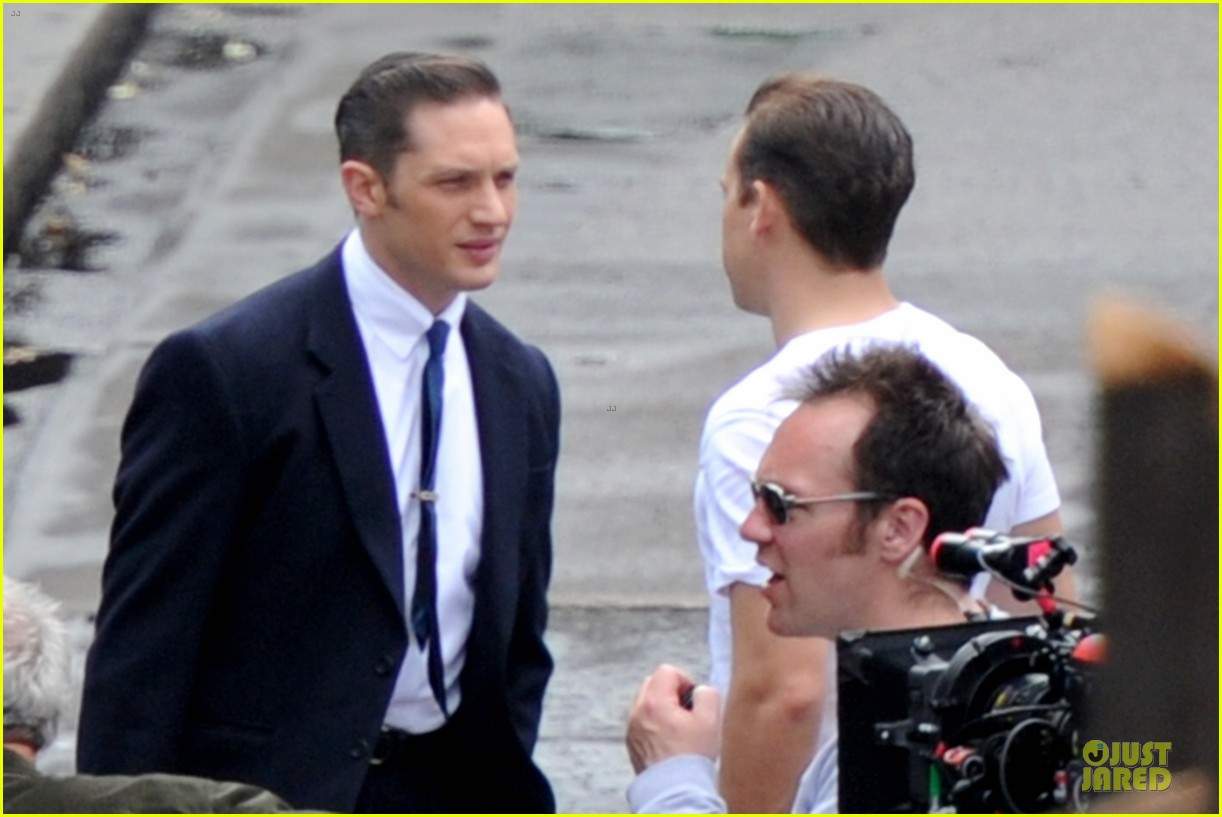 tom hardy handsome legend in a suit 253152844