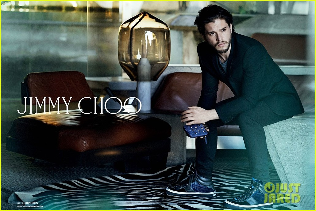 kit harington jimmy choo campaign 013148708