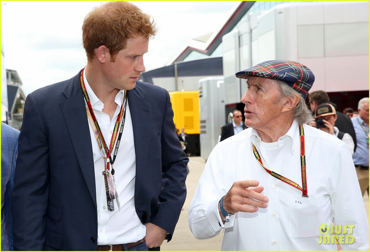 prince harry eventful sunday at the one grand prix 06