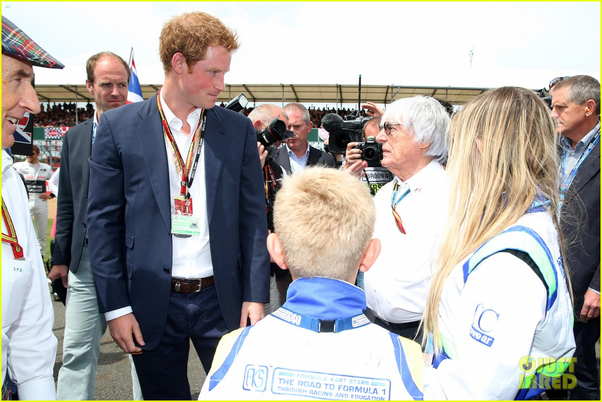 prince harry eventful sunday at the one grand prix 07