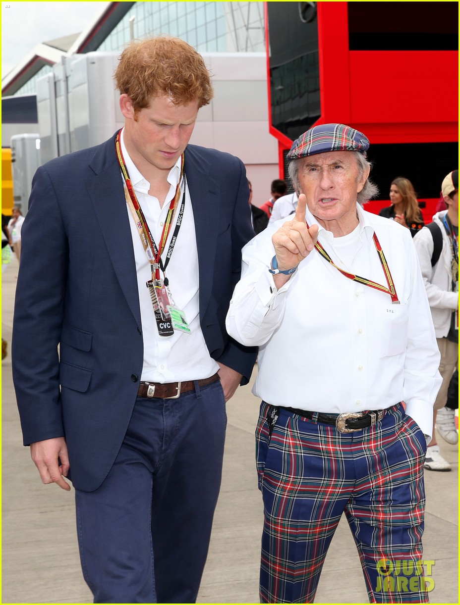 prince harry eventful sunday at the one grand prix 123150855