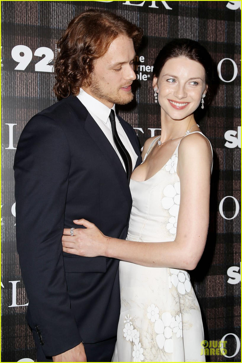 heughan and balfe dating games