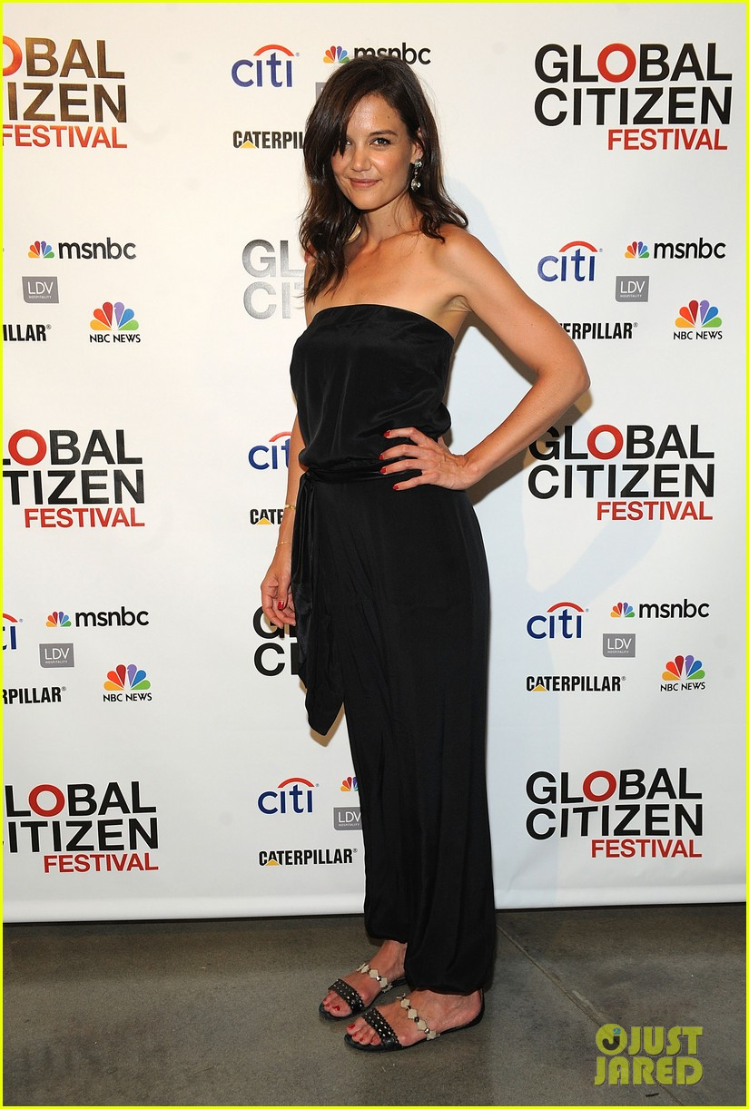 katie holmes global citizen festival 03