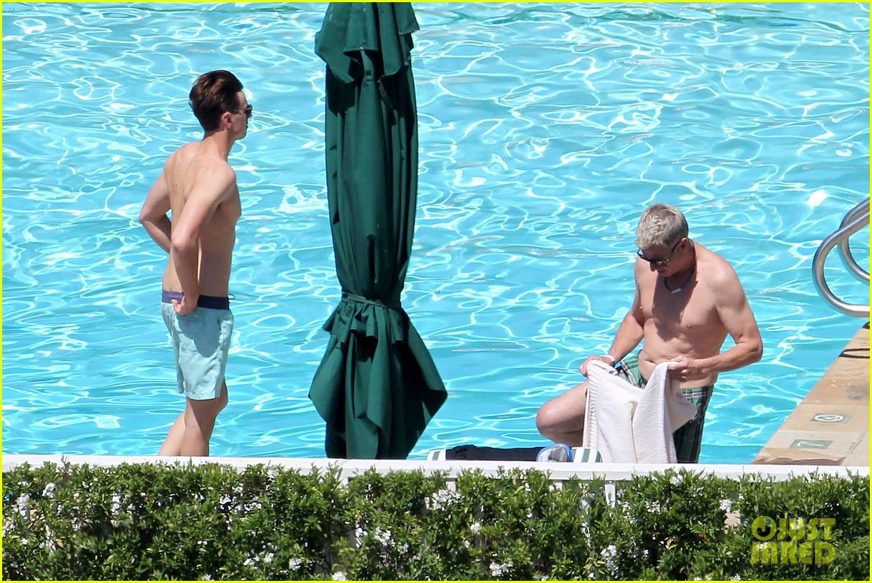 joe simpson hits the pool with a much younger man 103150039