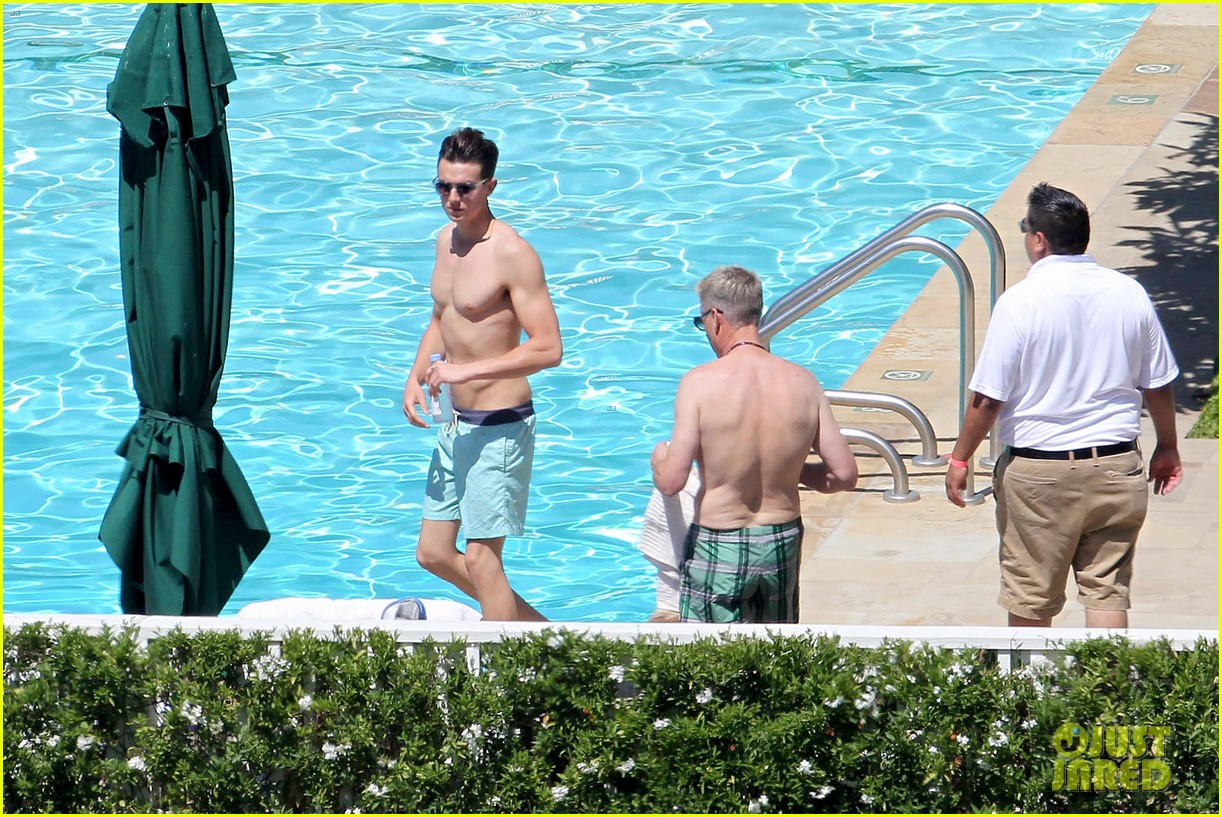 joe simpson hits the pool with a much younger man 12