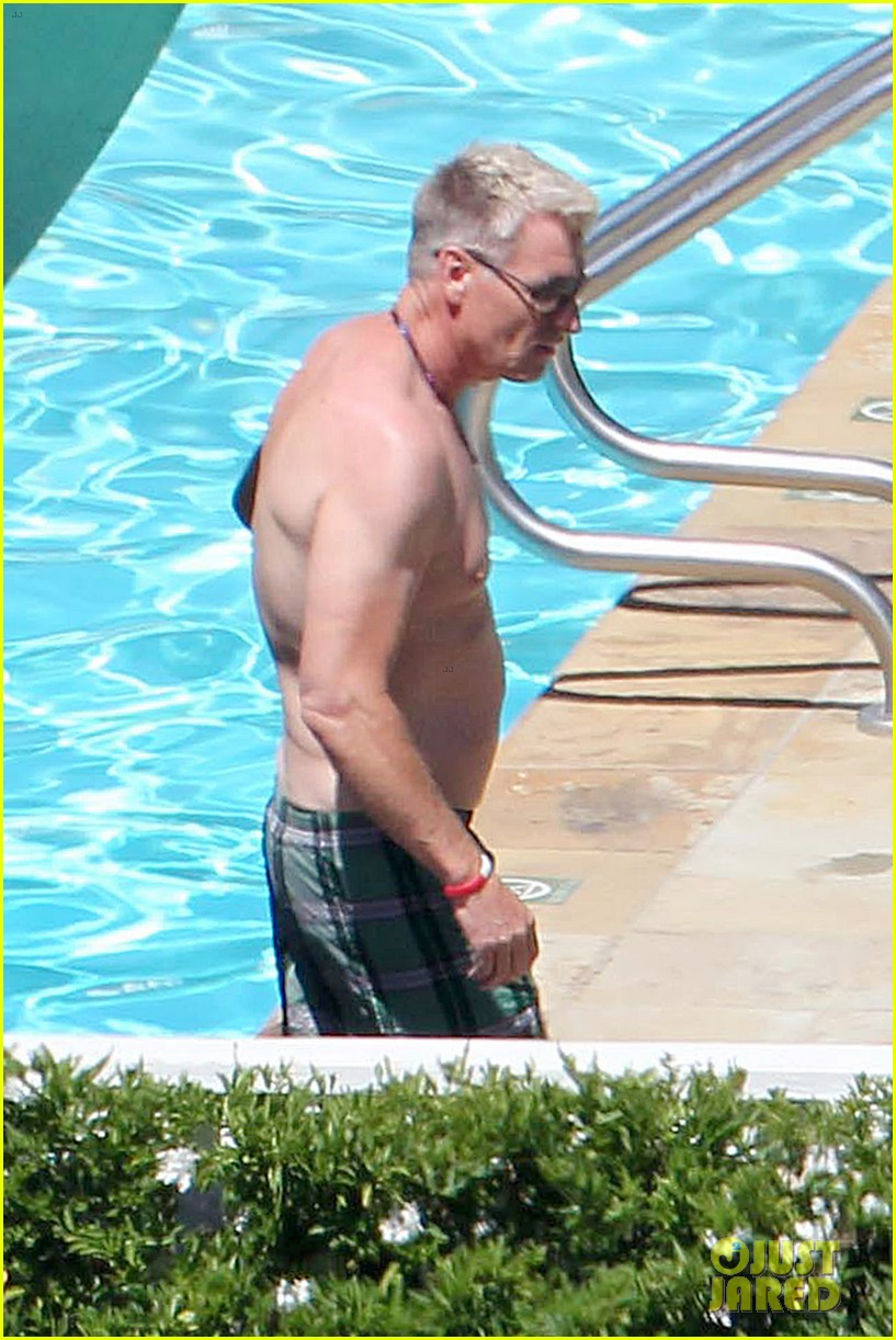 joe simpson hits the pool with a much younger man 173150046