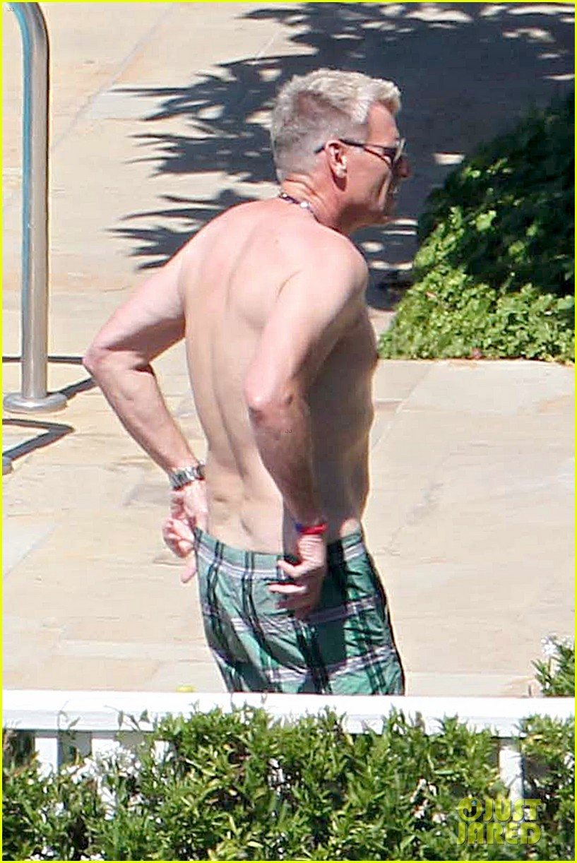 joe simpson hits the pool with a much younger man 293150058