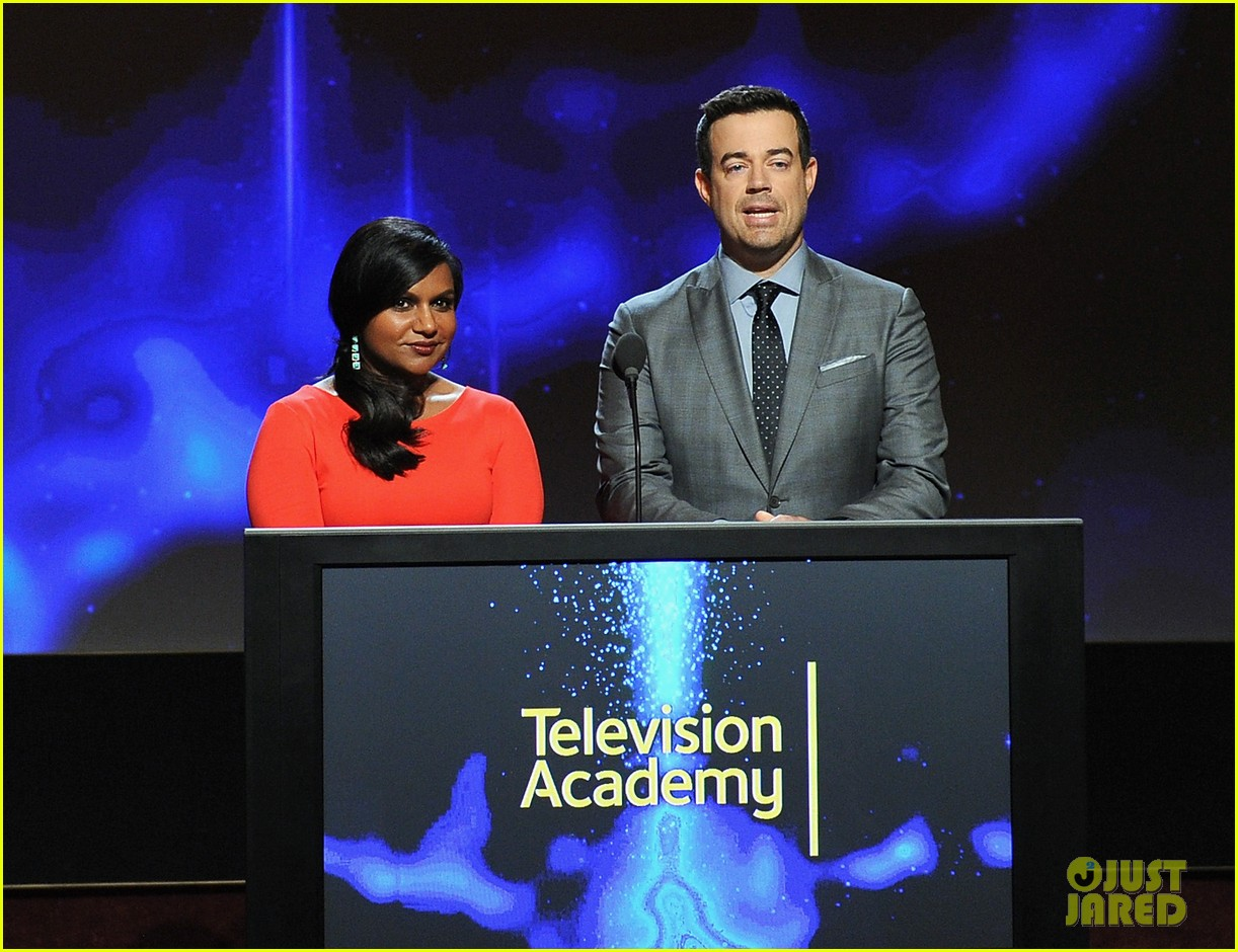 mindy kaling carson daly announce the emmy nominations 2014 033152979