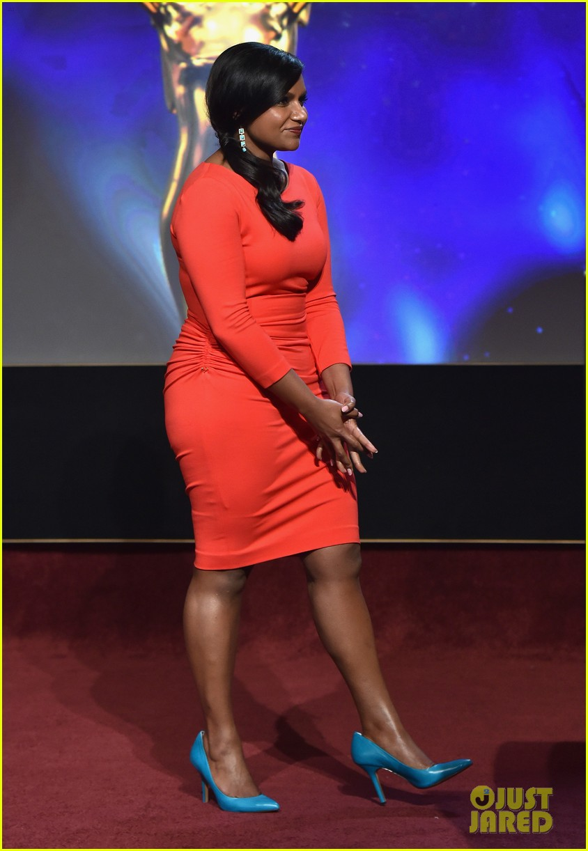mindy kaling carson daly announce the emmy nominations 2014 043152980