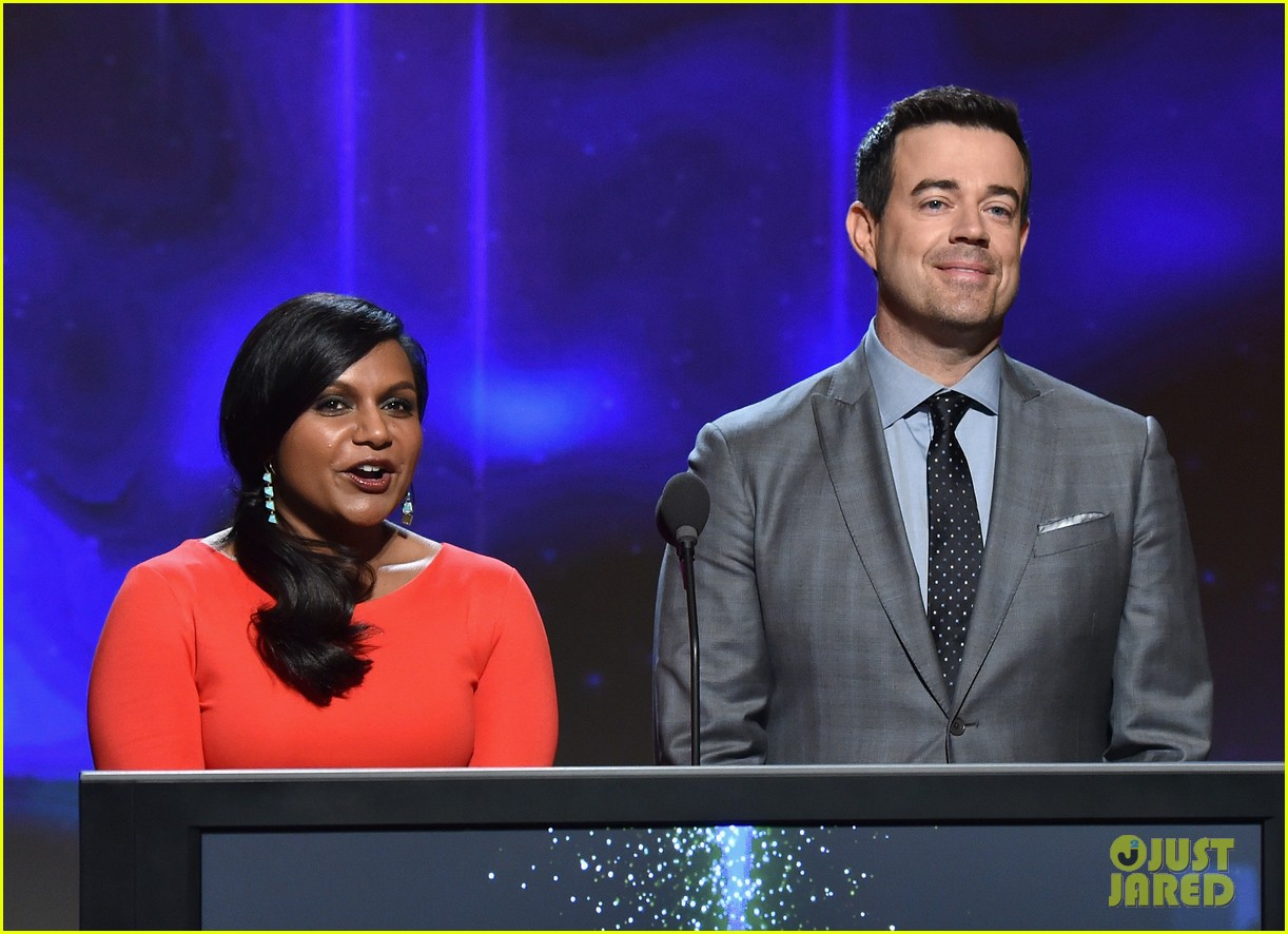 mindy kaling carson daly announce the emmy nominations 2014 083152984