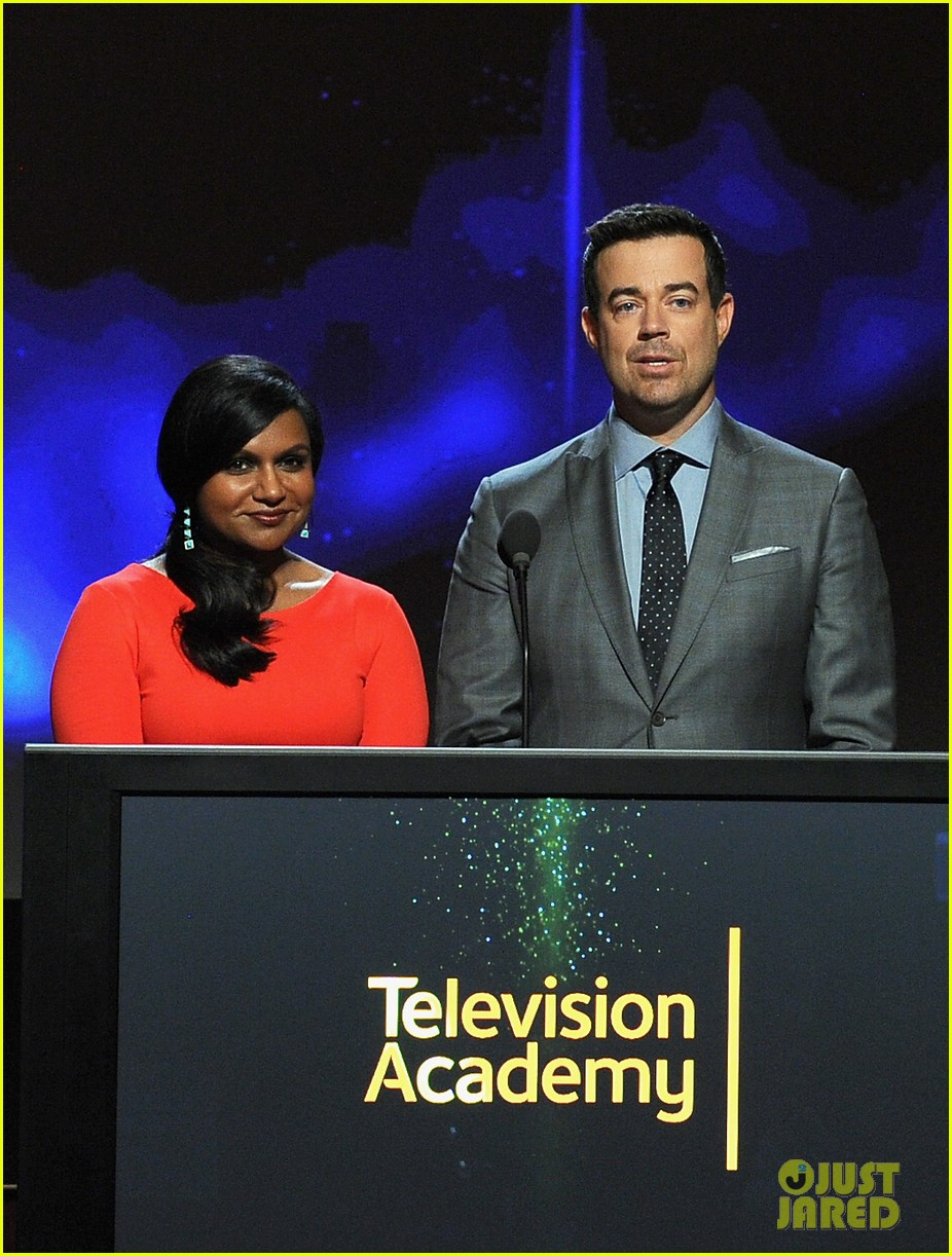 mindy kaling carson daly announce the emmy nominations 2014 093152985