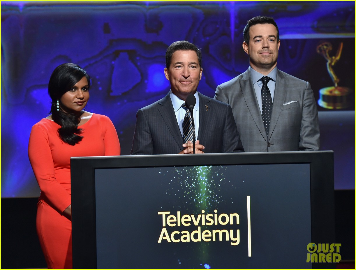 mindy kaling carson daly announce the emmy nominations 2014 103152986