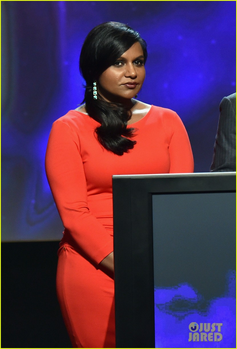 mindy kaling carson daly announce the emmy nominations 2014 133152989