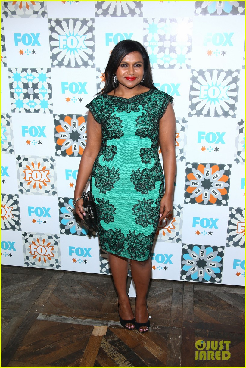 mindy kaling gets glam for foxs summer tca all star party 023160917