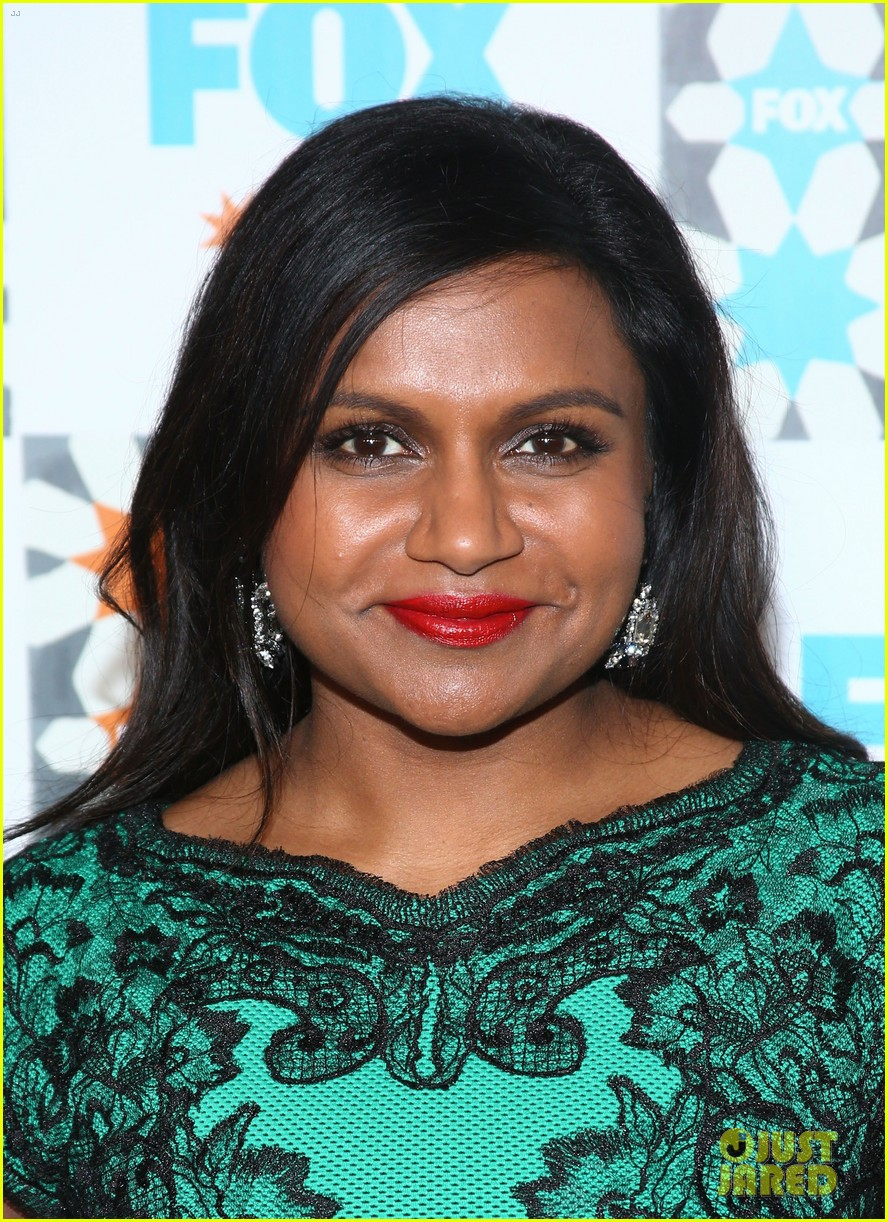 mindy kaling gets glam for foxs summer tca all star party 043160919
