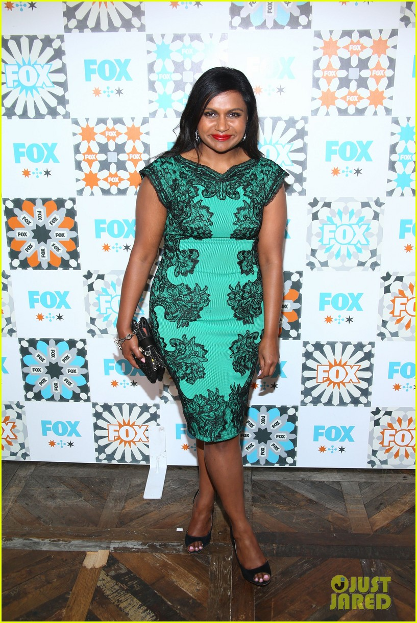 mindy kaling gets glam for foxs summer tca all star party 153160930