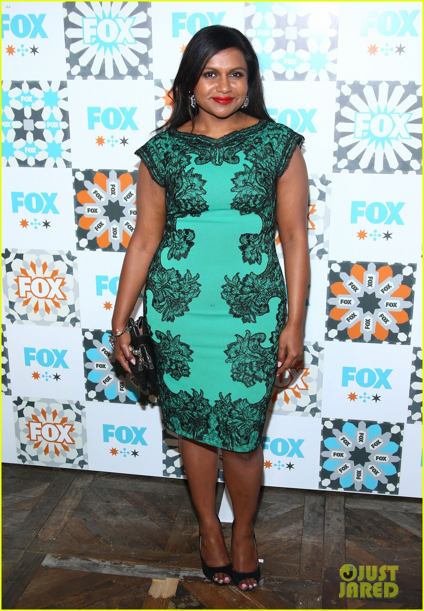 mindy kaling gets glam for foxs summer tca all star party 163160931