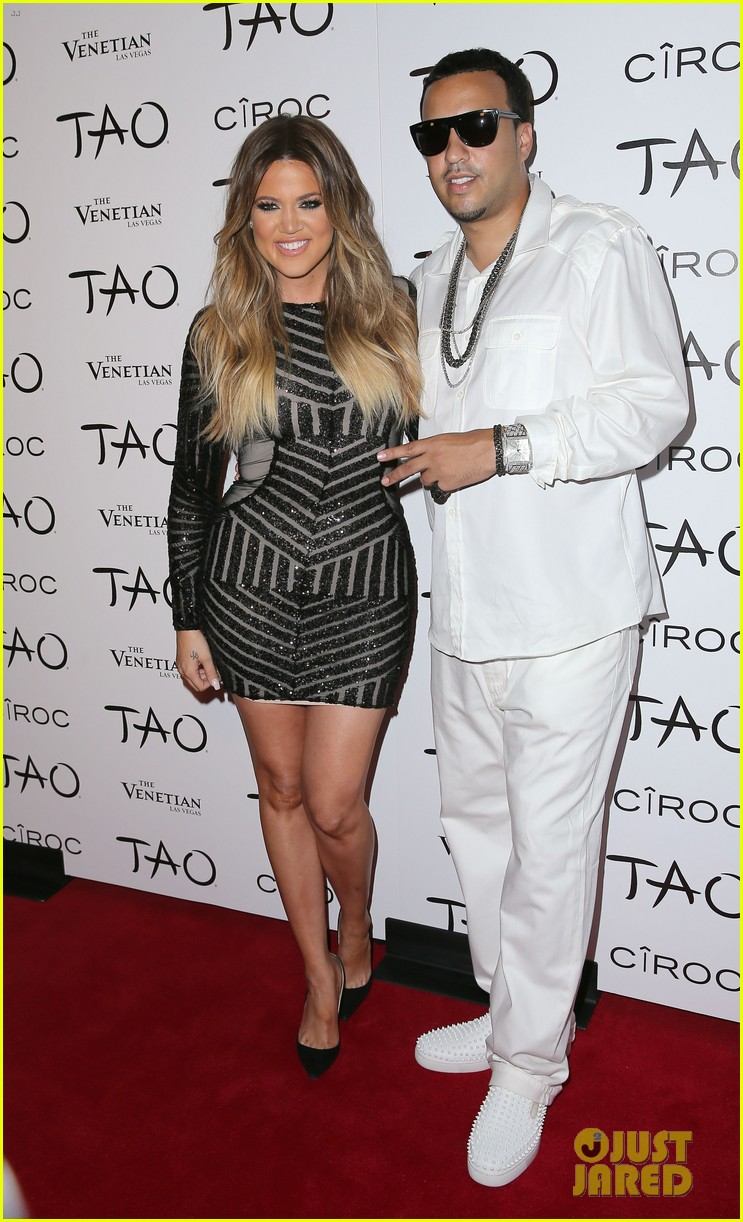 khloe kardashian french montana first red carpet 103149843