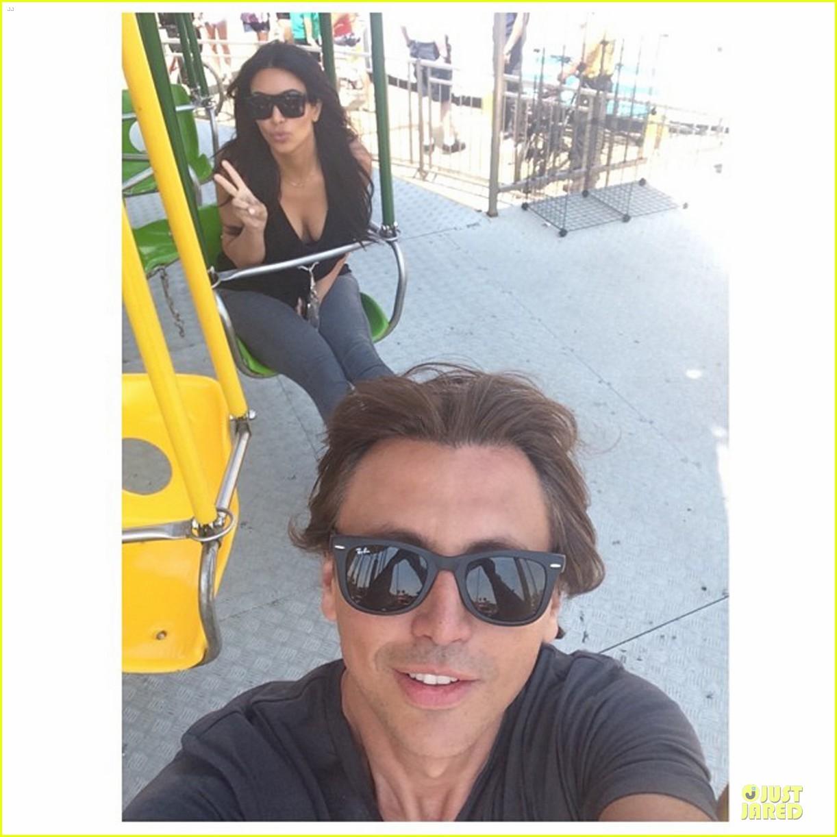 kim kardashian jonathan cheban enjoy jersey shore 033152105