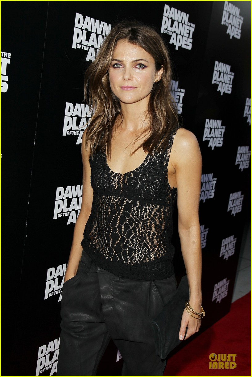 keri russell sheer at dawn of the planets of the apes premiere 06