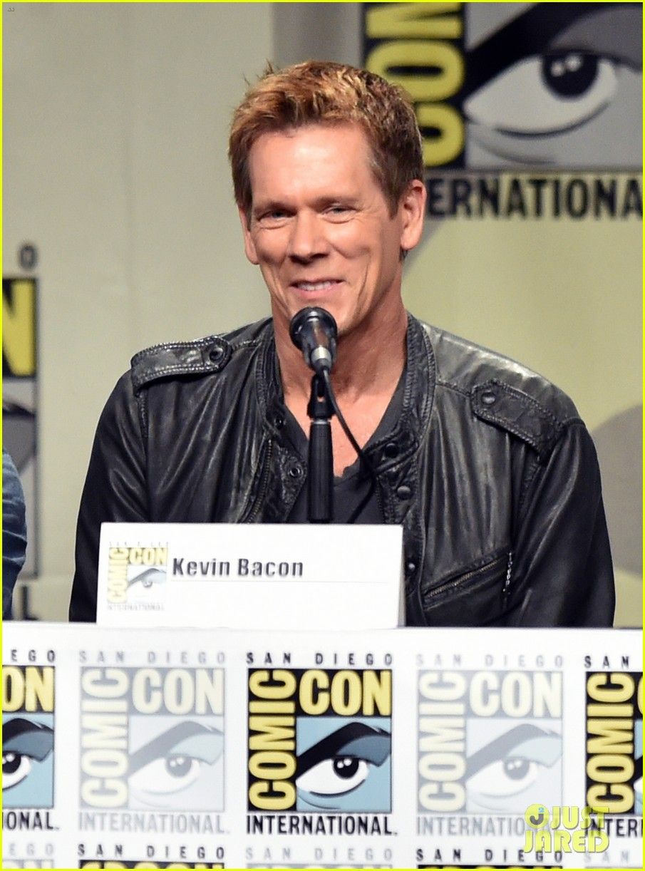 kevin bacon the following panel comic con 2014 013165316