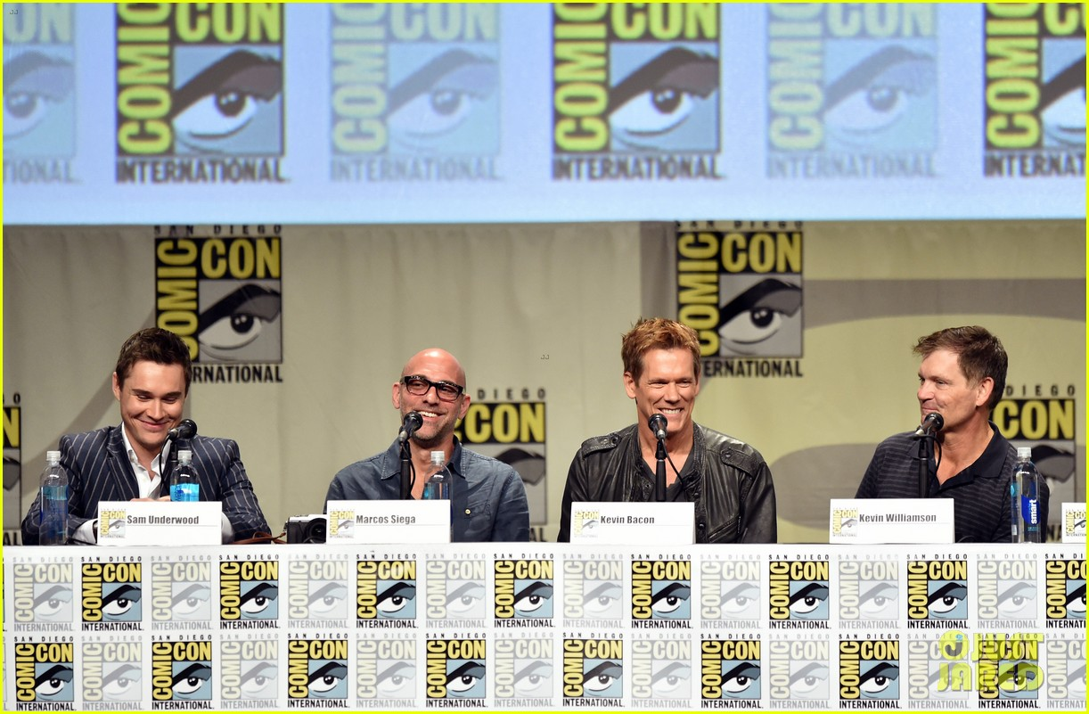 kevin bacon the following panel comic con 2014 043165319