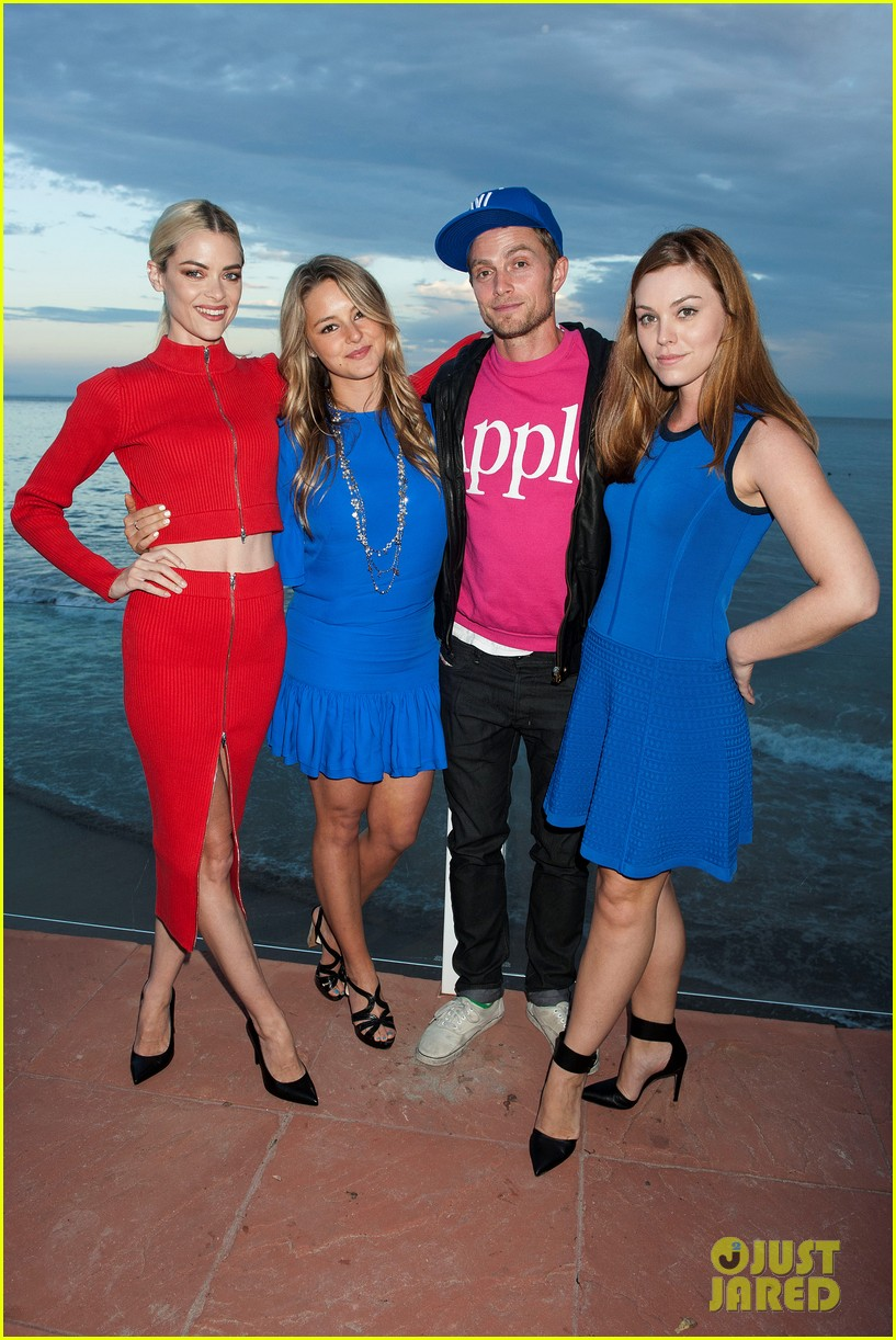 Jaime King Hosts Just Jared x REVOLVE Dinner in Malibu ...
