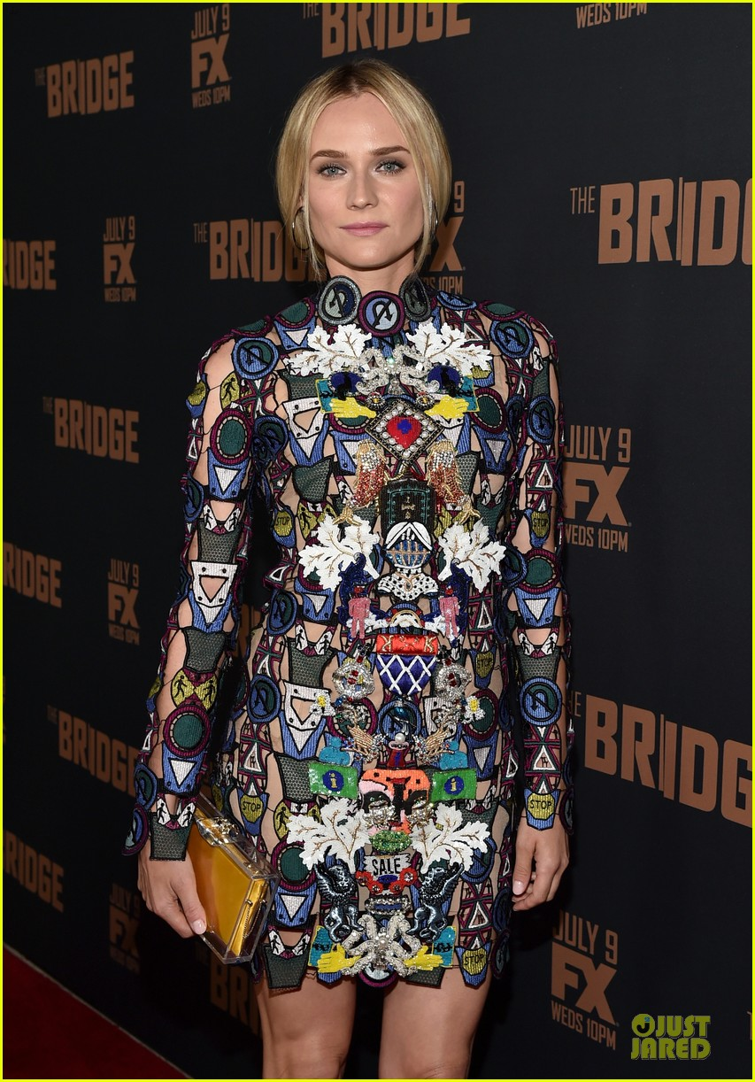 diane kruger brings colorful fashion sense to bridge premiere 103151526