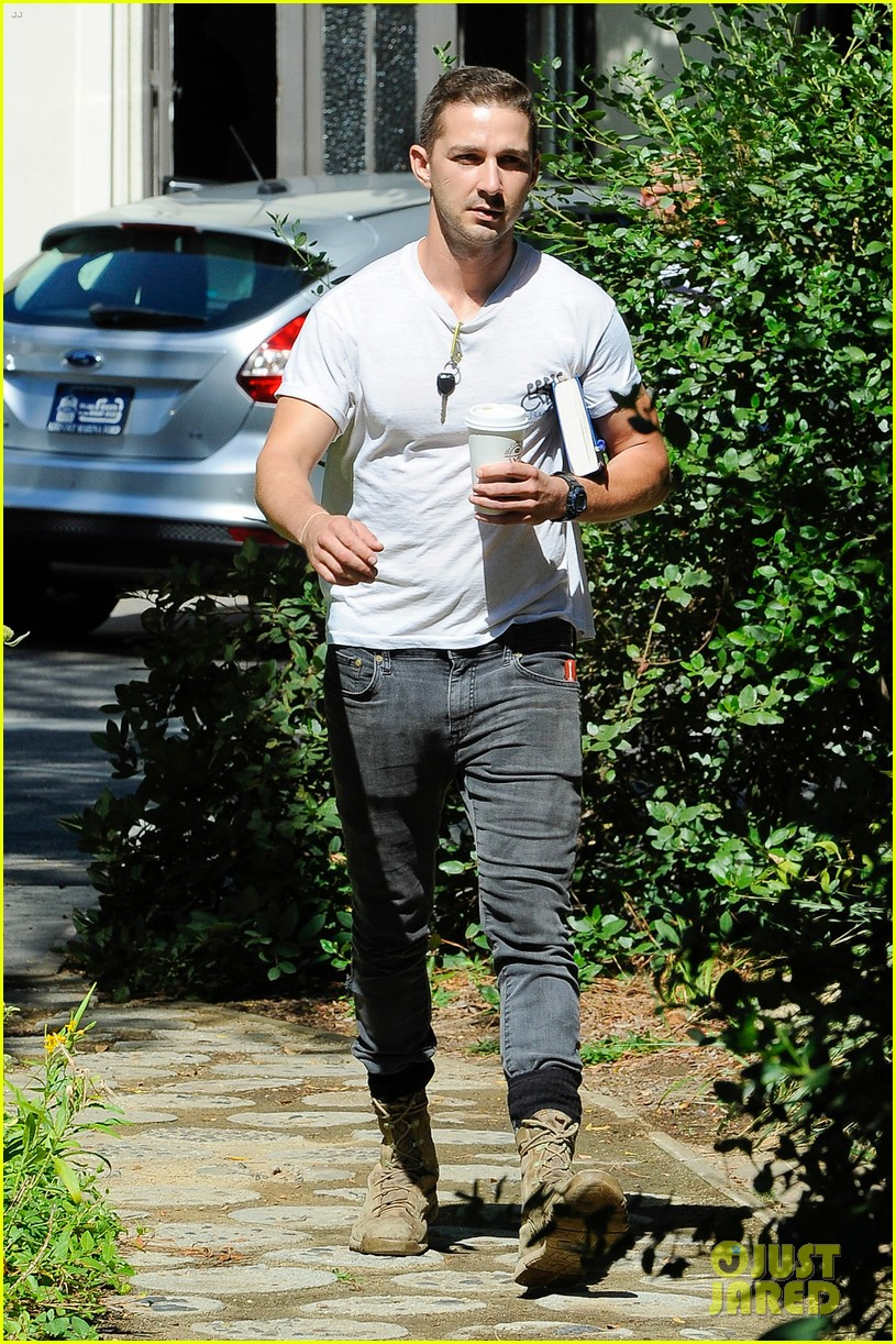 shia labeouf clean shaven looking healthy 133151088