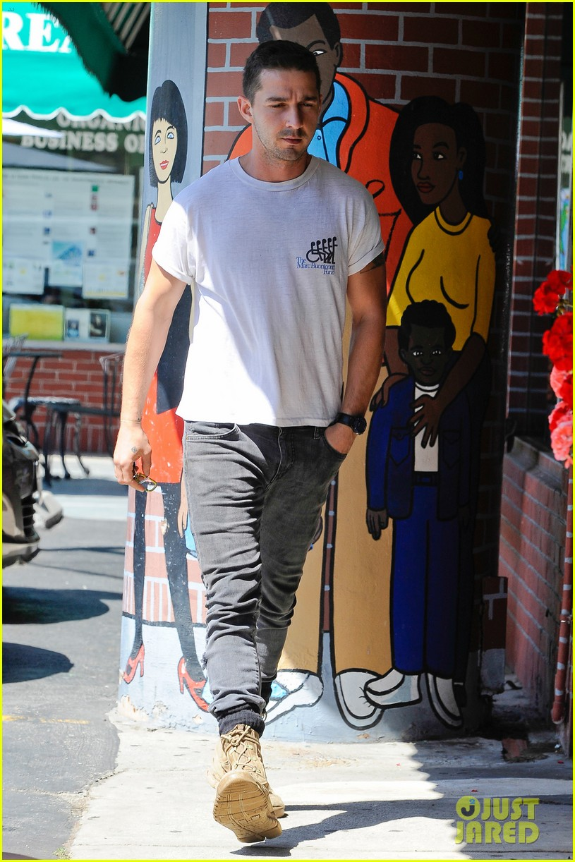 shia labeouf clean shaven looking healthy 193151094