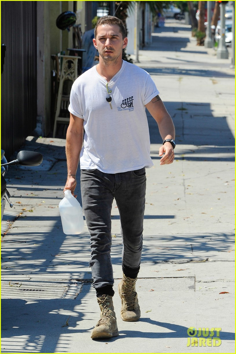 shia labeouf clean shaven looking healthy 20