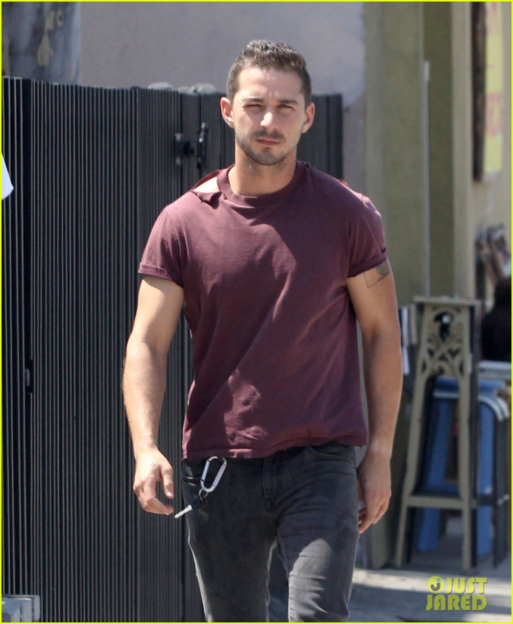 shia labeouf lifts his shirt bares torso 043153171