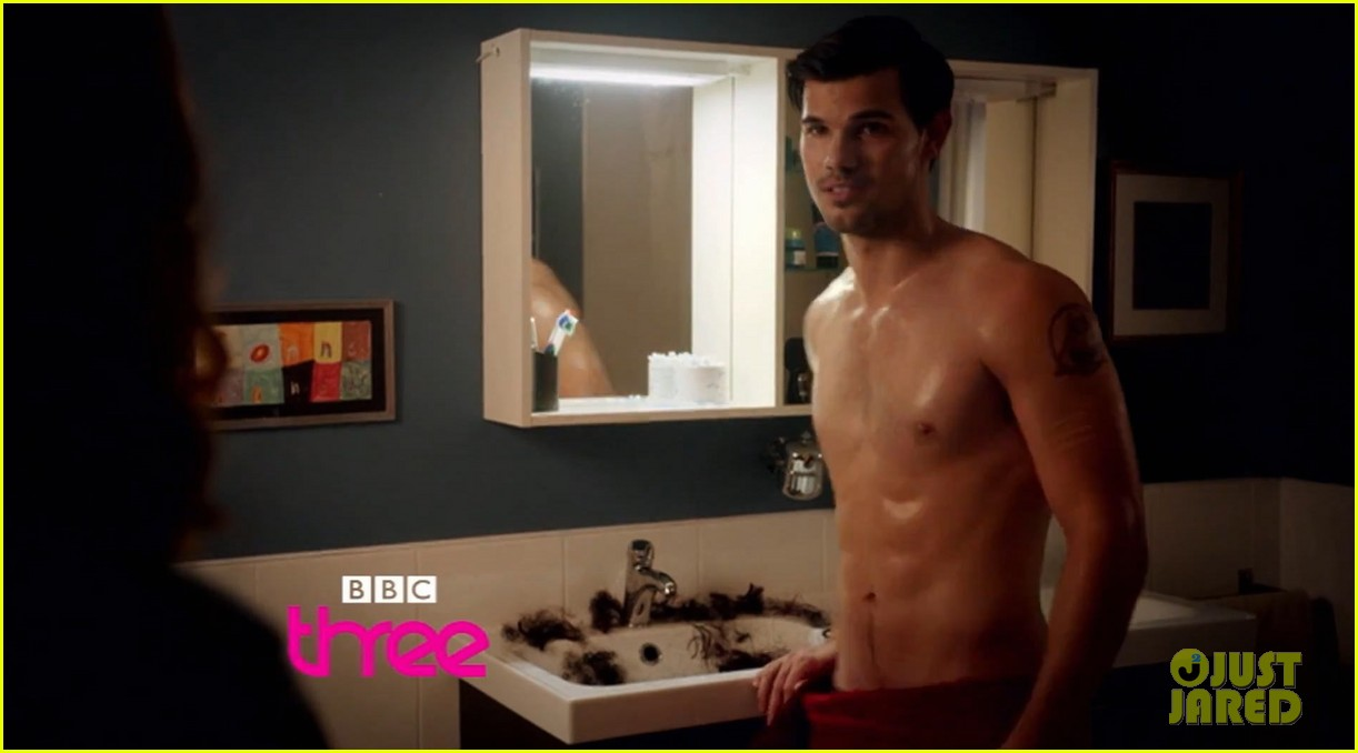 taylor lautner shirtless bushy beard cuckoo trailer 053161041