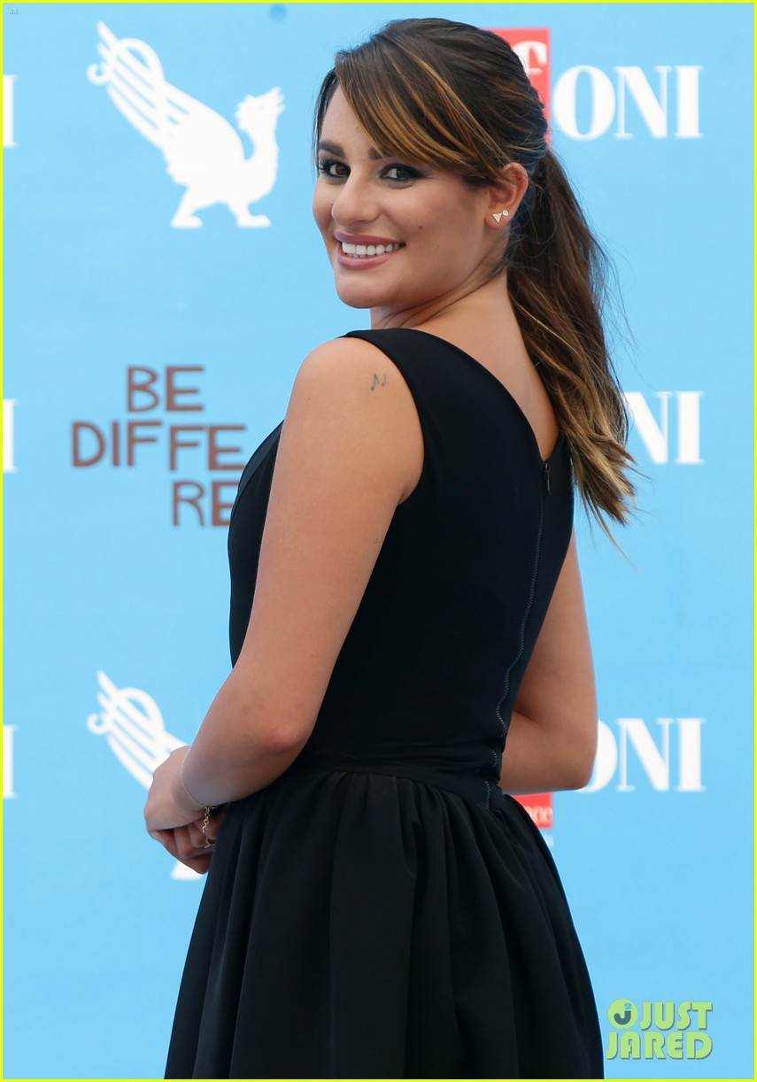 lea michele wows at griffoni film festival 083160378