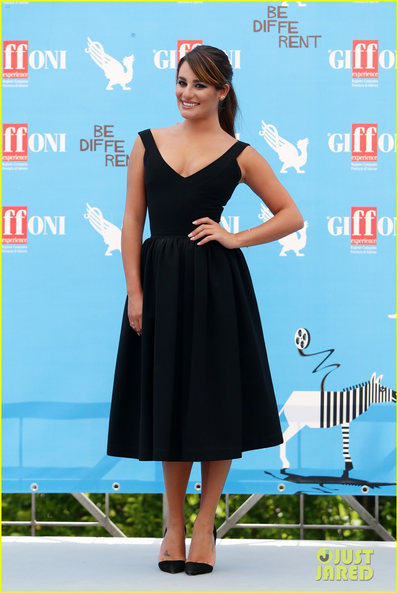 lea michele wows at griffoni film festival 153160385
