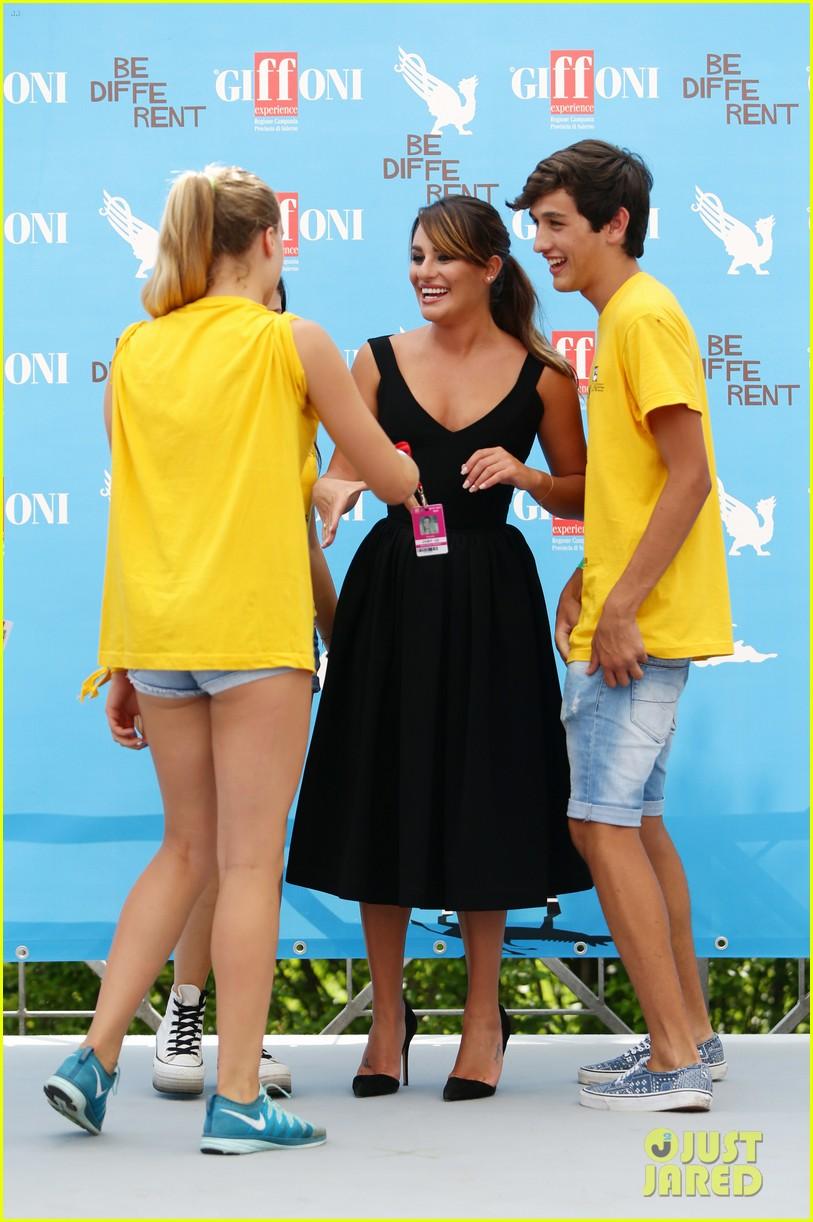 lea michele wows at griffoni film festival 193160389