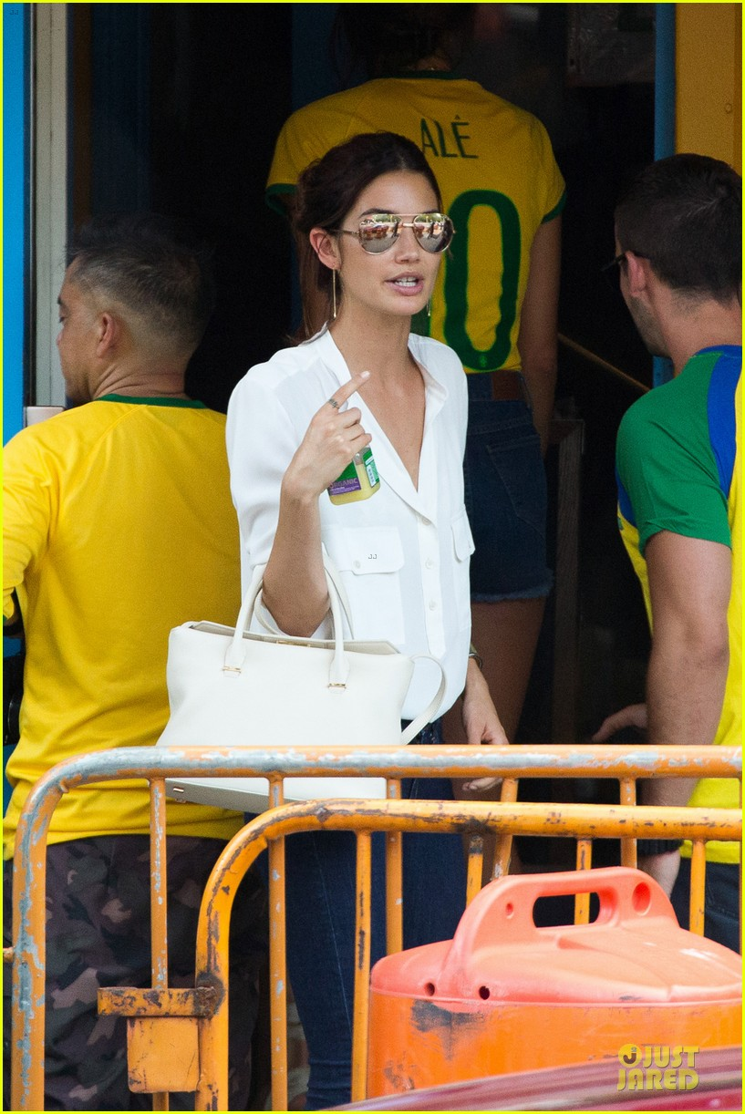 adriana lima alessandra ambrosio support brazil in world cup defeat 22