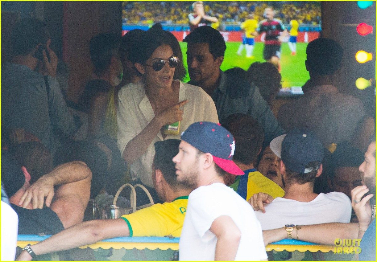 adriana lima alessandra ambrosio support brazil in world cup defeat 253151914