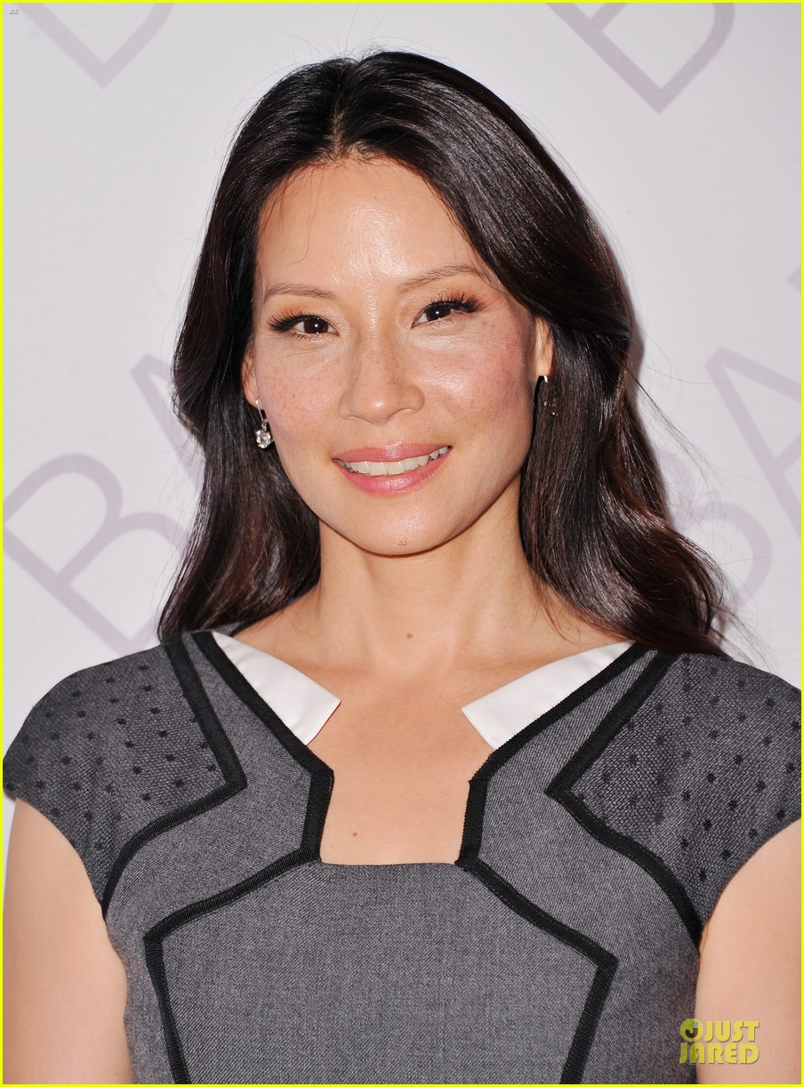 lucy liu shows support for bam education 083147464