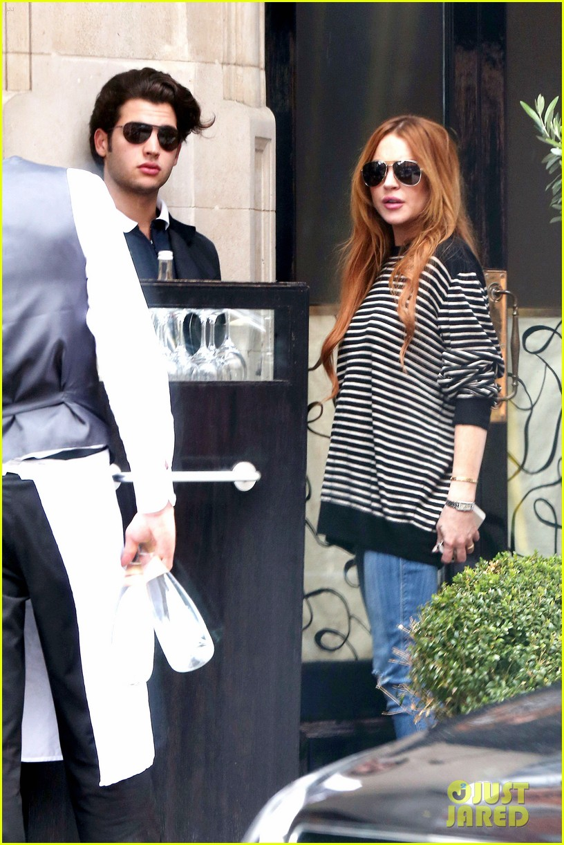 lindsay lohan is back in the states after a long stay in london 033147803