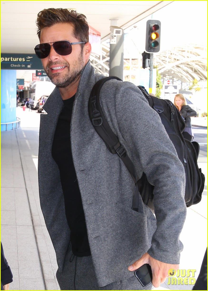 Ricky Martin & 'Voice Australia' Mentors Fly Out After
