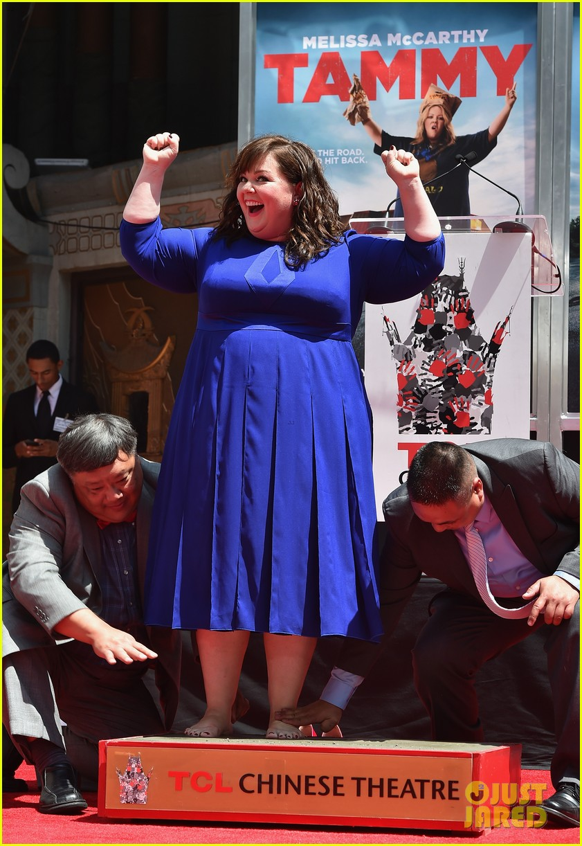 melissa mccarthy hand footprint ceremony 013148510