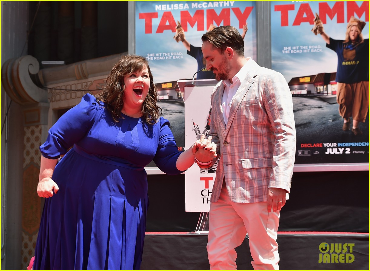 melissa mccarthy hand footprint ceremony 183148527